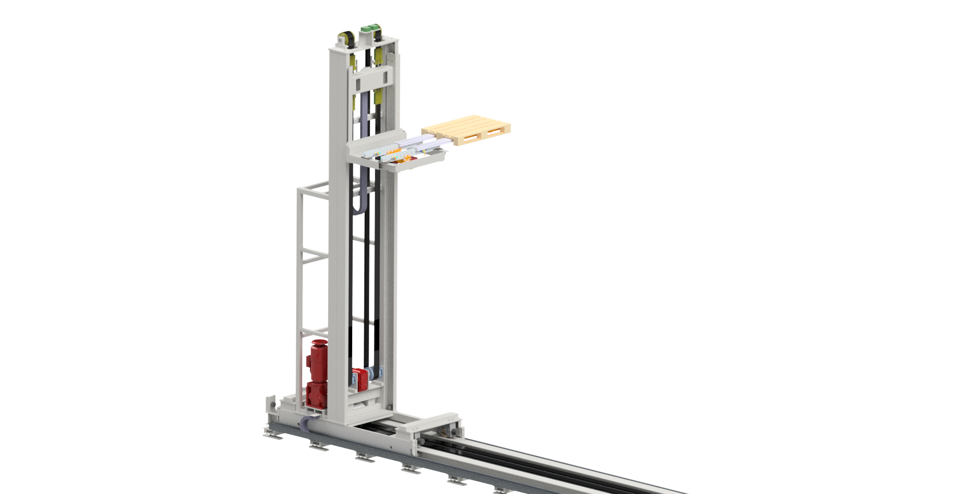 drive and lifting systems