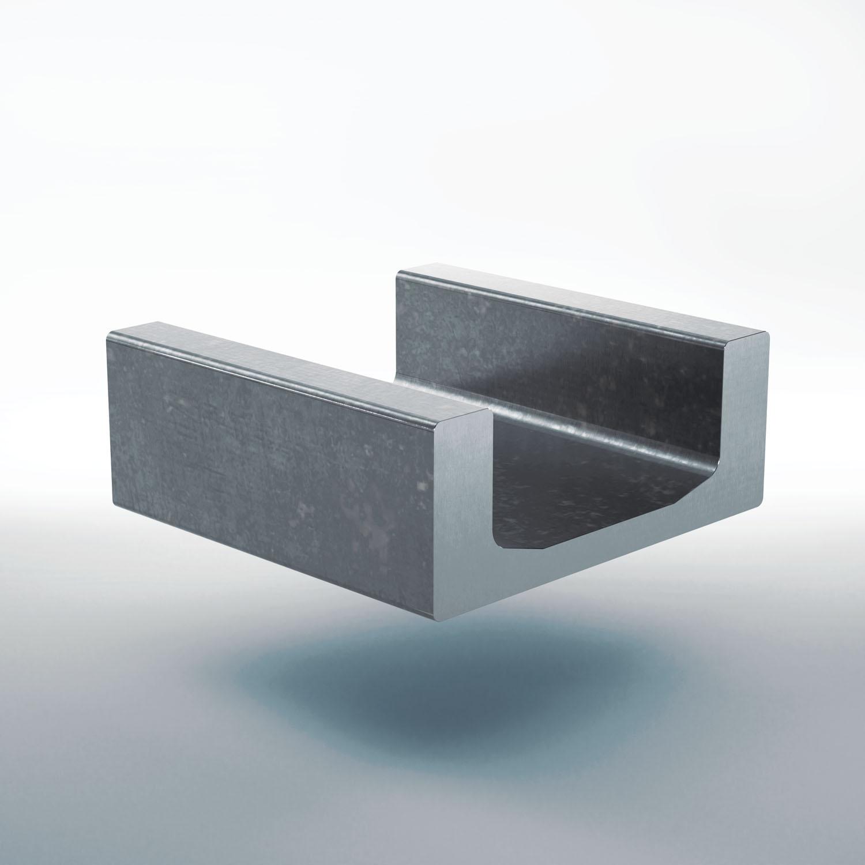 U-profile stainless steel