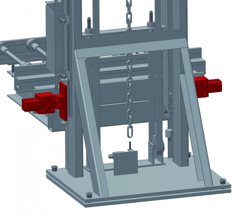 ASBP Positionsabsteckung prisma pneumatisch